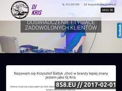Miniaturka domeny www.djkris.com.pl