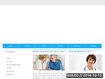 Zrzut strony D&J Medica Ratownictwo Medyczne i Pielęgniarstwo