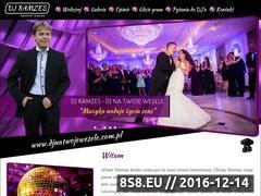 Miniaturka domeny djnatwojewesele.com.pl