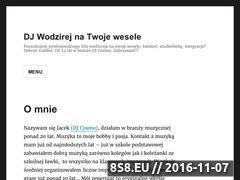 Miniaturka djnawesela.com.pl (Oprawa muzyczna wesel - Warszawa i Lublin)