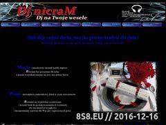 Miniaturka domeny www.djnaweselekrakow.pl