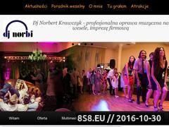 Miniaturka domeny www.djnorbi.com.pl