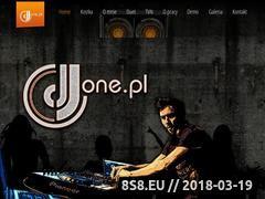 Miniaturka www.djone.pl (DJ na twoją imprezę)