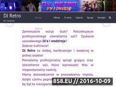 Miniaturka DJ, konferansjer i wodzirej na wesele, imprezę! (djretro.pl)