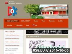 Miniaturka dk.ozimek.pl (Dom Kultury w Ozimku - folklor)