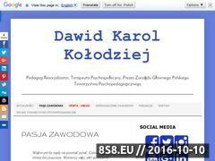 Miniaturka dkk.psychopedagog.eu (Terapie Psychospołeczne oraz Coaching przez Internet)