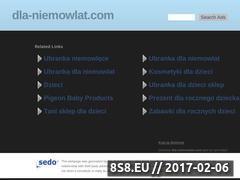 Miniaturka domeny www.dla-niemowlat.com