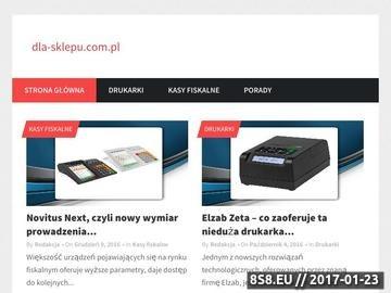 Zrzut strony Opisy kas i drukarek fiskalnych dla punktów handlowo-usługowych