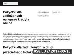 Miniaturka dla-zadluzonych.pl (Pożyczki dla zadłużonych)