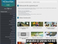 Miniaturka www.dladziecibajki.pl (Bajki online)