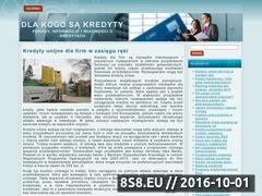 Miniaturka domeny www.dlakogosakredyty.pl