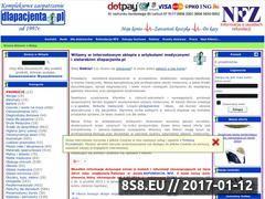 Miniaturka domeny www.dlapacjenta.pl