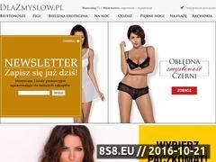 Miniaturka domeny www.dlazmyslow.pl