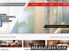 Miniaturka domeny www.dms-adwokaci.pl