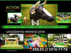 Miniaturka domeny www.dmuchance.actor.com.pl