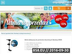 Miniaturka domeny www.dmuchane.pl