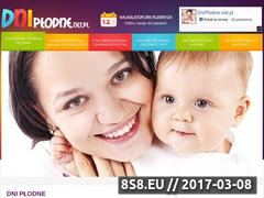 Miniaturka domeny www.dniplodne.net.pl