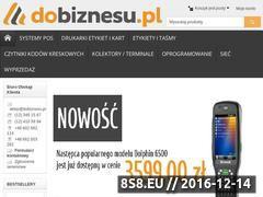 Miniaturka Drukarki do etykiet oraz program do etykiet (dobiznesu.pl)