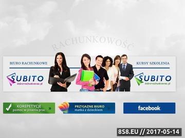 Zrzut strony Korepetycje rachunkowość - Subito