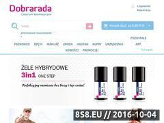 Miniaturka www.dobrarada.com.pl (Żele UV i ozdoby do paznokci)