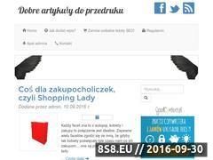Miniaturka dobre-artykuly.pl (Darmowy blog tylko precel page)
