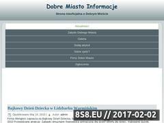 Miniaturka domeny www.dobre-miasto.com