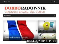 Miniaturka domeny www.dobre-rady.eu