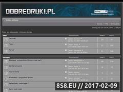Miniaturka domeny www.dobredruki.pl