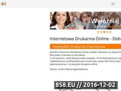Miniaturka domeny www.dobredrukowanie.pl