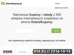 Miniaturka domeny www.dobrekupony.pl