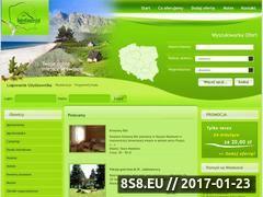Miniaturka domeny www.dobrekwatery.pl