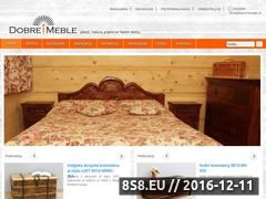 Miniaturka domeny www.dobremeble.net