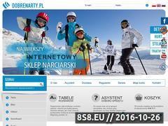 Miniaturka domeny www.dobrenarty.pl