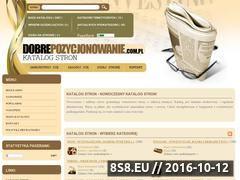 Miniaturka domeny www.dobrepozycjonowanie.com.pl