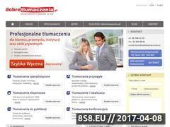 Miniaturka domeny www.dobretlumaczenia.pl