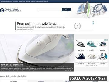 Zrzut strony DobreZelazka.pl - wszystko o żelazkach
