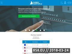 Miniaturka domeny www.dobrykantor.pl