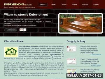 Zrzut strony DOBRYREMONT Usługi Remontowo-Budowlane