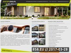 Miniaturka domeny www.docieplenia.pl