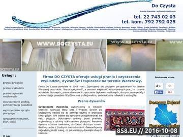 Zrzut strony Firma sprzątająca Warszawa