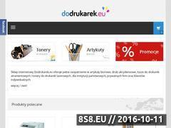 Miniaturka domeny dodrukarek.eu