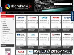 Miniaturka domeny www.dodrukarki.pl
