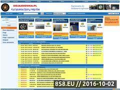 Miniaturka dojazdowka.pl (Ogłoszenia sprzedaży Opony, felgi oraz akcesoria)