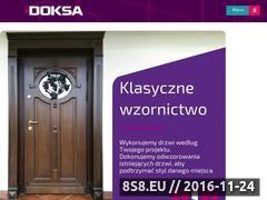 Miniaturka Drzwi wewnętrzne i zewnętrzne (www.doksadrzwi.pl)