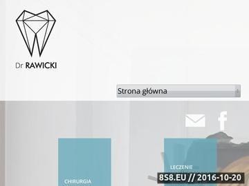 Zrzut strony Usługi stomatologiczne
