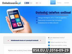Miniaturka www.doladowanie.pl (Doładowanie telefonu)