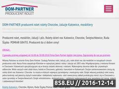 Miniaturka domeny dom-partner.eu