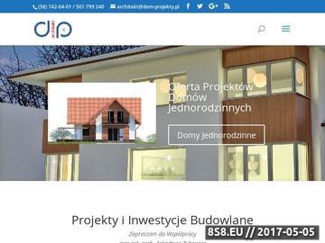 Zrzut strony Domy - projekty domów, projekty adaptacji