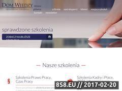 Miniaturka Szkolenia, kursy: kadry i płace, HR, prawo pracy (dom-wiedzy.pl)