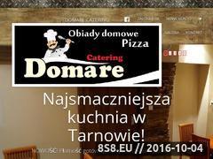 Miniaturka domare.pl (Wizytówka Restauracji Domare)